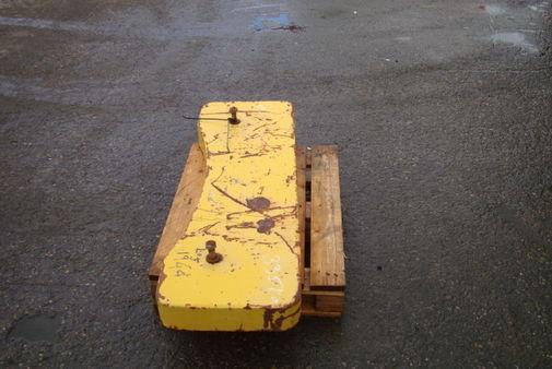 Additional counterweigh 335 kg max machinery equipment for Cabine stub di stub