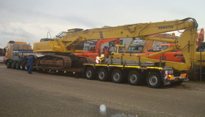 KOMATSU PC380-6 SOLD TO NORWAY