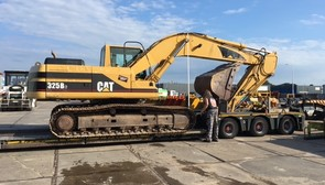 CAT 325BLN SOLD TO PERU