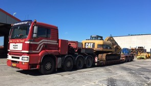 CAT 320DL SOLD TO NETHERLANDS
