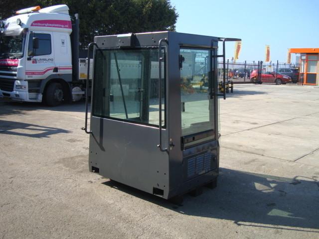 Cabine wheel loader max machinery equipment for Cabine stub di stub